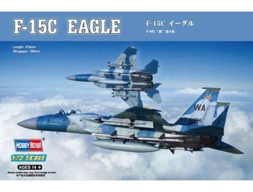 Hobby Boss F-15C Eagle 1:72 (80270)