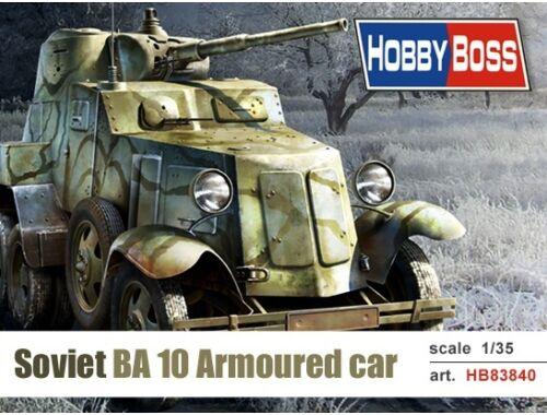 Hobby Boss Soviet BA-10 Armor Car 1:35 (83840)