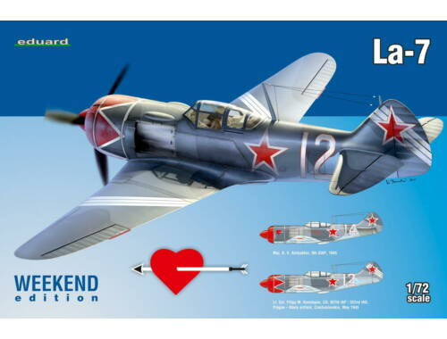 Eduard La-7 WEEKEND edition 1:72 (7425)