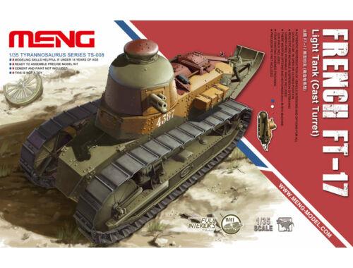 Meng French FT-17 Light Tank(Cast Turret) 1:35 (TS-008)