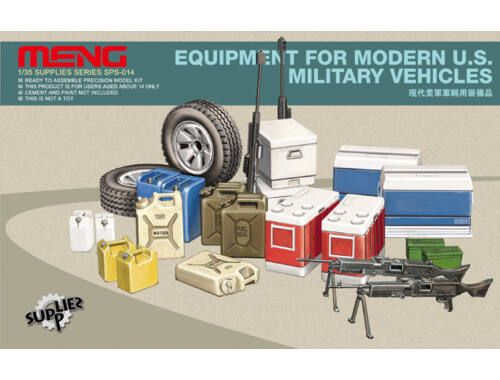 Meng Equipment for modern U.S.Military vehicl 1:35 (SPS-014)