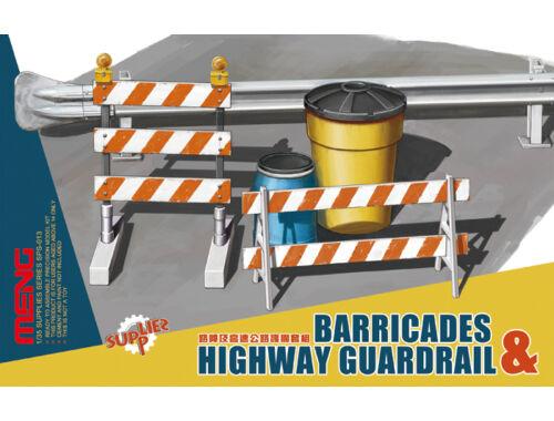 Meng Barricades   Highway Guardrail 1:35 (SPS-013)