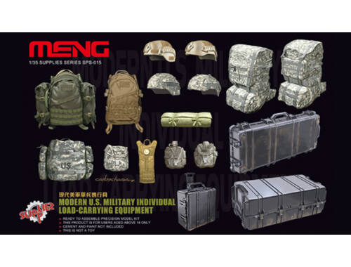 Meng Modern U.S. Military individual load-car 1:35 (SPS-015)