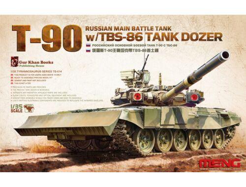 Meng Russian Main Battle Tank T-90 w/TBS-86 1:35 (TS-014)
