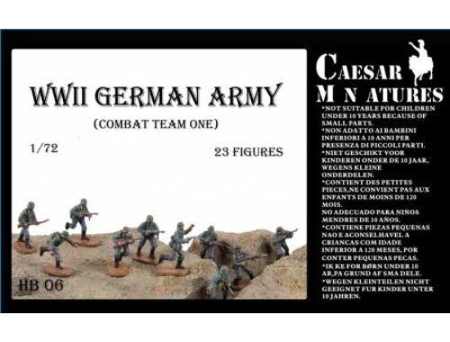 Caesar WWII Germans Army (combat team one) 1:72 (HB06)