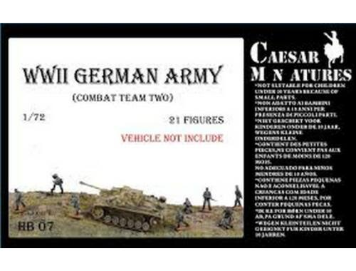 Caesar WWII Germans Army (combat team two) 1:72 (HB07)