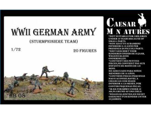 Caesar WWII Germans Army (Sturmpionier Team) 1:72 (HB08)