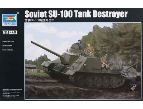 Trumpeter Soviet SU-100 Tank Destroyer 1:16 (00915)