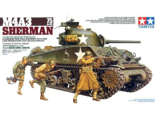 Tamiya Sherman 7500 Late version 1:35 (35250)