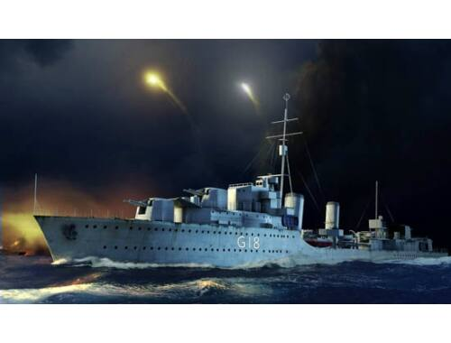 Trumpeter HMS Zulu Destroyer 1941 1:350 (5332)