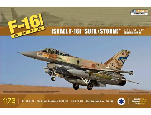 Kinetic F-16I SUFA (Storm) Israel Air Force 1:72 (72001)