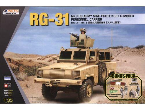 Kinetic RG-31 MK3 US Army 1:35 (61012)