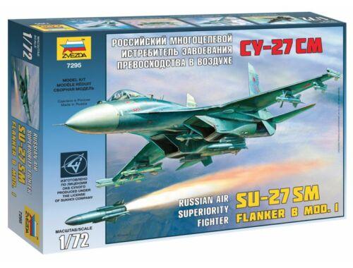 Zvezda SU-27SM 1:72 (7295)