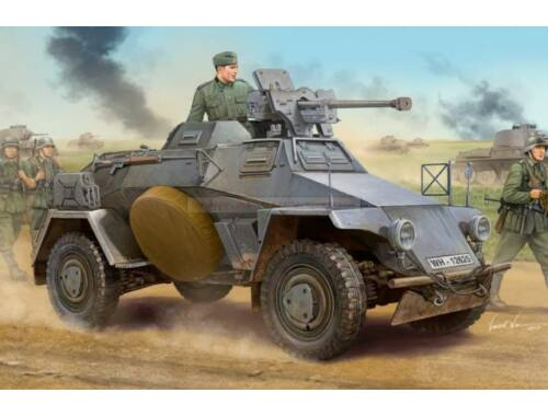 Hobby Boss German Le.Pz.Sp.Wg (Sd.Kfz.221)Panzerwag 1:35 (83813)