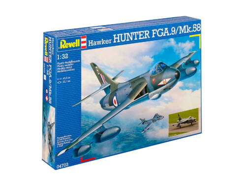 Revell Hawker Hunter FGA.9/Mk.58 1:32 (4703)