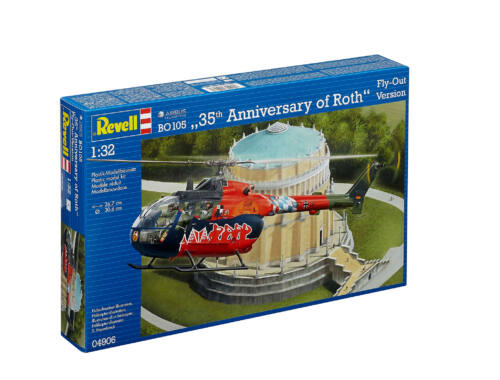"Revell BO 105 ""35th Anniversary of Roth"" 1:32 (4906)"