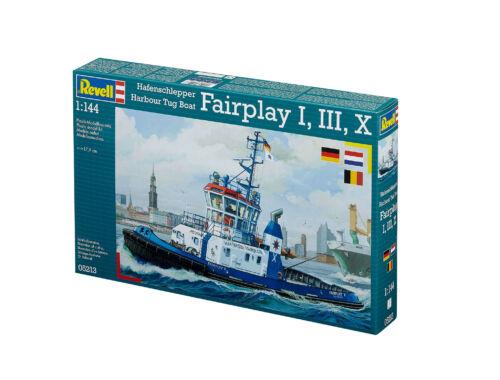 Revell Harbour Tug Boat 'Fairplay' I, III, X 1:144 (5213)
