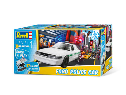 Revell Build 'n Play Ford Police Car 1:25 (6112)