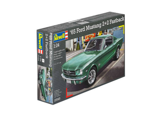 Revell '65 Ford Mustang 2 2 Fastback 1:24 (7065)