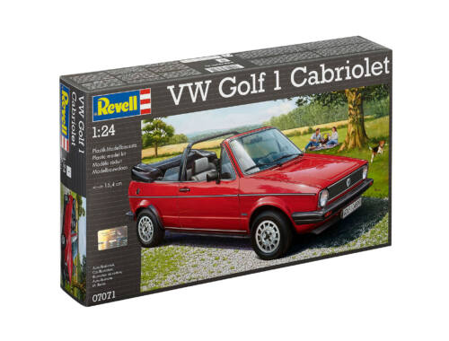 Revell VW Golf 1 Cabrio 1:24 (7071)