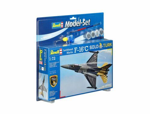 Revell Model Set Lockheed Martin F-16 C 'Solo Türk' 1:72 (64844)