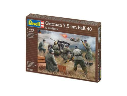 Revell German Pak-40 with soldiers 1:72 (2531)