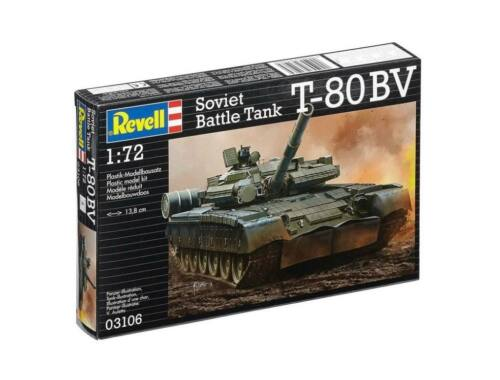 Revell T-80 BV Explosive reactive armour 1:72 (3106)