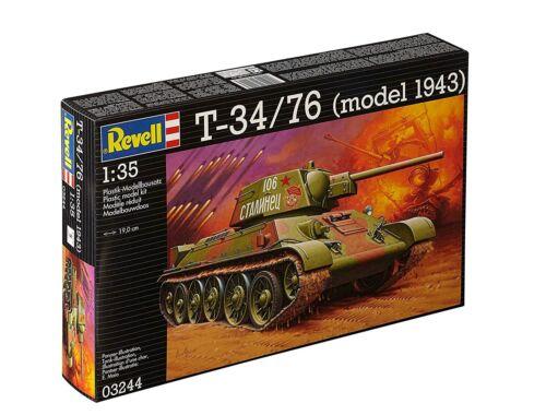 Revell T-34/76 (model 1943) 1:35 (3244)