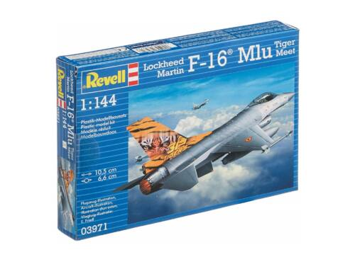 Revell Lockheed Martin F-16 Mlu TigerMeet 1:144 (3971)