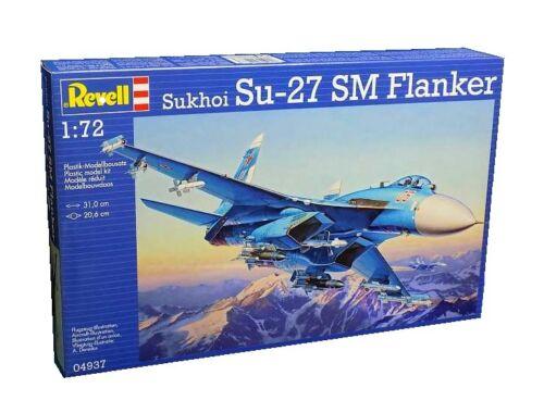 Revell Sukhoi Su-27 SM Flanker 1:72 (4937)