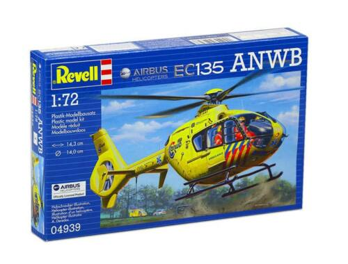 Revell Airbus Helicopters EC135 ANWB 1:72 (4939)