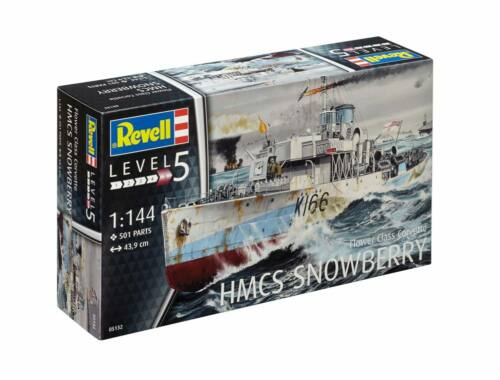 Revell HMCS Snowberry Flower Class Corvette 1:144 (5132)