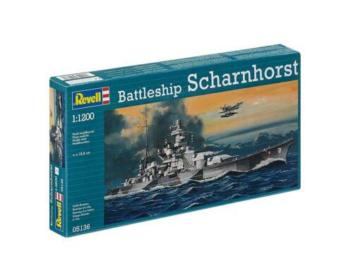 Revell Battleship Scharnhorst 1:1200 (5136)