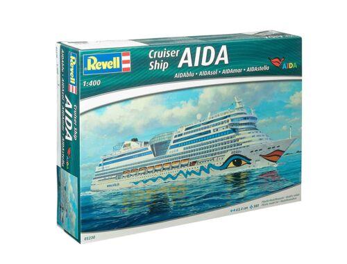 Revell Cruiser Ship AIDA AIDAblu, AIDAsol, AIDAmar, AIDAstella 1:400 (5230)