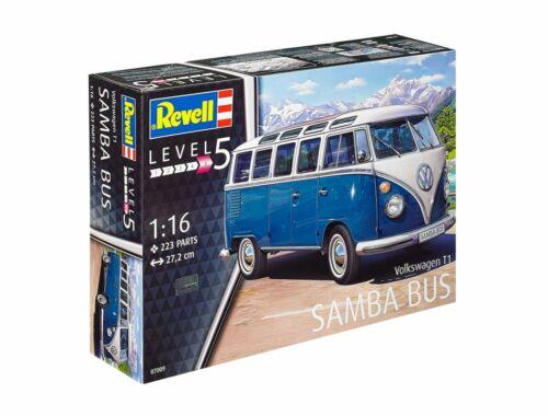 Revell VW Typ 2 T1 Samba Bus 1:16 (7009)