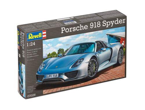 Revell Porsche 918 Spyder 1:24 (7026)