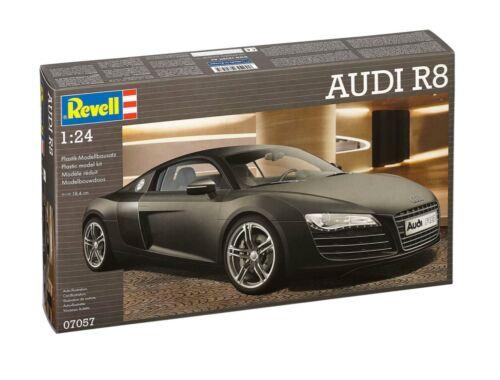 Revell Audi R8 black 1:24 (7057)