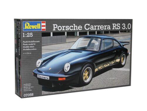 Revell Porsche Carrera RS 3.0 (black) 1:25 (7058)