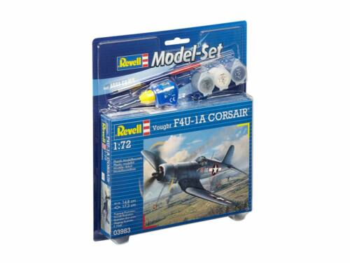 Revell Model Set Vought F4U-1D Corsair 1:72 (63983)