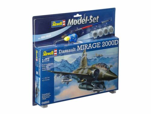 Revell Model Set Mirage 2000D 1:72 (64893)