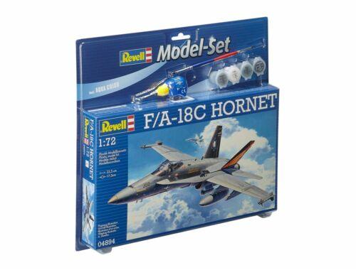 Revell Model Set F/A-18C Hornet 1:72 (64894)