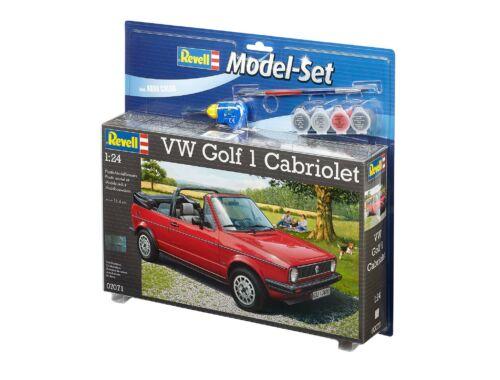 Revell Model Set VW Golf 1 Cabrio 1:24 (67071)