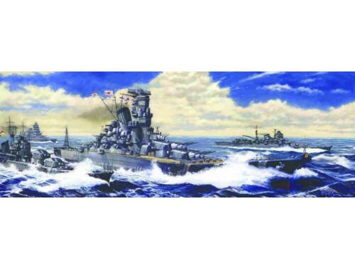 "Fujimi IJN Battleship YAMATO ""Reite Coast"" 1:700 (FU421339)"