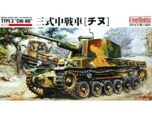 Fine Molds IJA Type 3 Chi-Nu Medium Tank 1:35 (FM11)