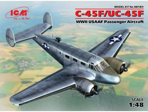 ICM C-45F American Transport Aircraft 1:48 (48181)