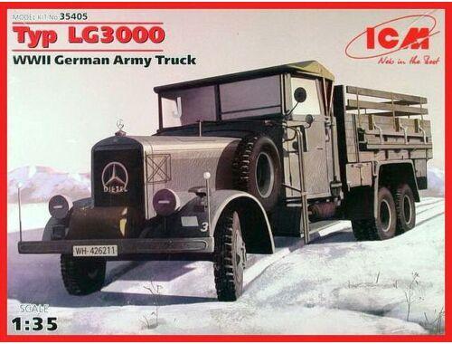 ICM Type LG3000, WWII German Army Truck 1:35 (35405)
