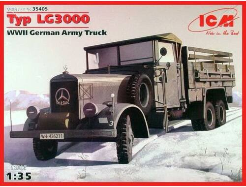 ICM Type LG3000, WWII German Army Truck 1:35 (35405)
