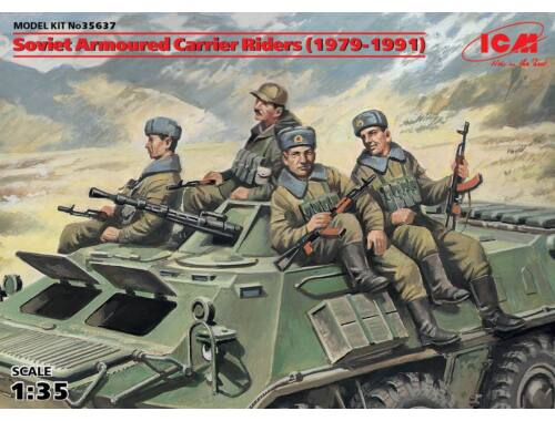 ICM Soviet Armored Carrier Riders 1:35 (35637)