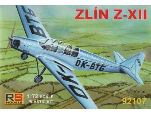 RS Model Zlin Z-XII 1/72 (92107)