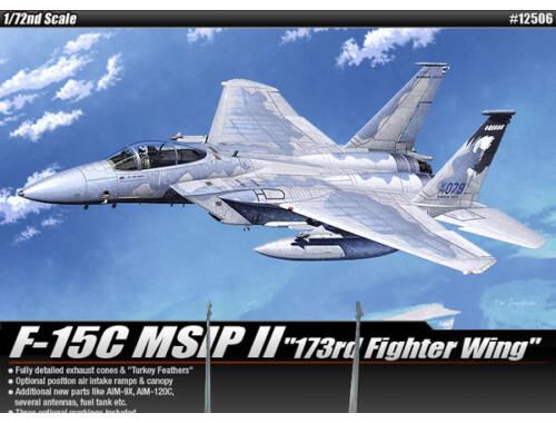 Academy F-15C MSIP II 173rd Fighter Wing 1:72 (12506)